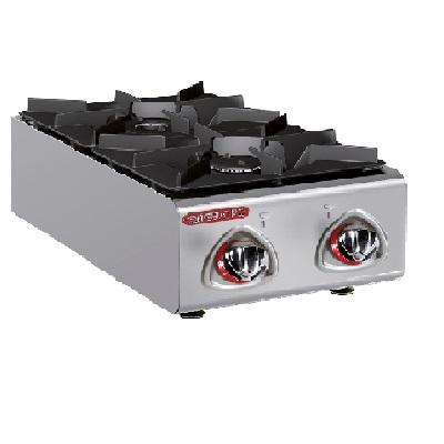 כיריים גז דגם שולחני כולל 2 להבות, קו בישול 600