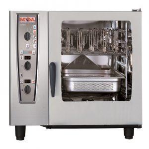 תנור קומביסטימר מופעל גז שולחני 6 תבניות 2/1 GN, סדרת CMP