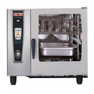 תנור קומביסטימר מופעל גז 6 תבניות 2/1 GN, סדרת SCCWE