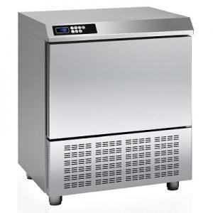 """מקרר משב/מקפיא 12/20 ק""""ג בסיס לתנור, 5 תבניות GN 1/1"""
