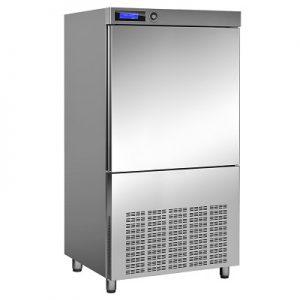 """מקרר משב/מקפיא 100/50 ק""""ג בסיס לתנור, 10 תבניות GN 2/1"""