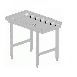 """שולחן יציאה גלילים 110 ס""""מ"""