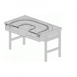 שולחן יציאה 180 מעלות ממונע