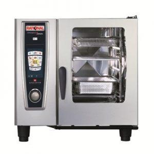 תנור קומביסטימר חשמלי שולחני 6 תבניות 1/1 GN, סדרת SCCWE